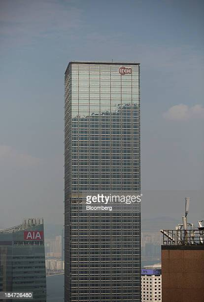 Cheung Kong Center which houses the headquarters of Cheung Kong Holdings Ltd stands in Hong Kong China on Tuesday Oct 15 2013 Billionaire Li Kashing...
