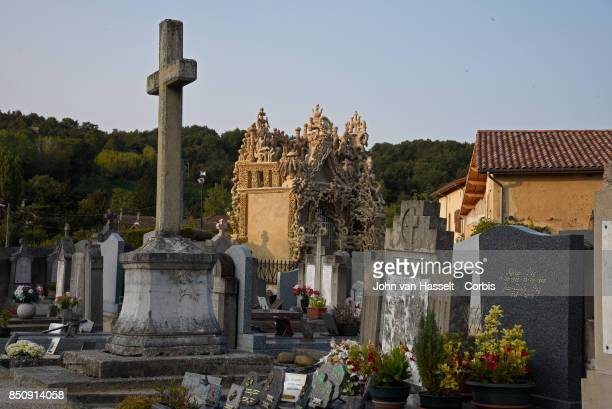Cheval built his own mausoleum in the Hauterives cemetery just before he died on August 19,1924.. French Postman Ferdinand Cheval spent 33 years of...