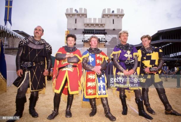 Chevaliers de l'équipe d'Angleterre à Paris France en juin 1987