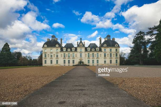 cheverny castle - loire valley stock pictures, royalty-free photos & images