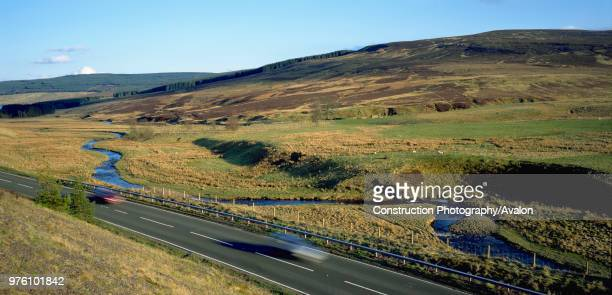 Cheviot Hills The Borders between England and Scotland United Kingdom