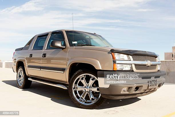 chevrolet avalanche - chevrolet stock pictures, royalty-free photos & images