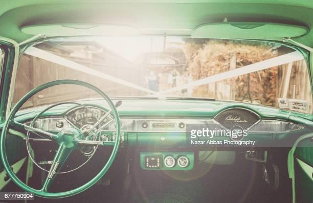 Chevrolet Bel Air Interior.