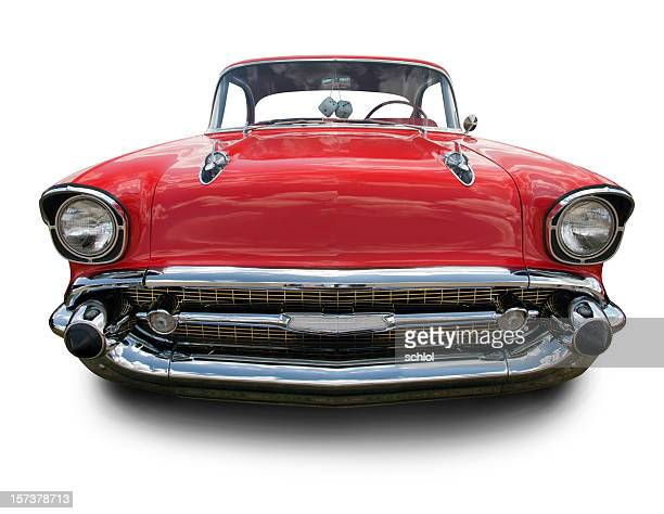 1957 chevrolet bel air - bumper stock pictures, royalty-free photos & images
