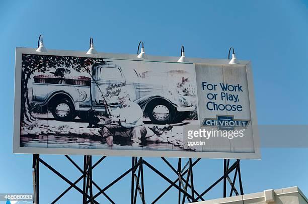 Chevrolet Billboard - 1950's Style