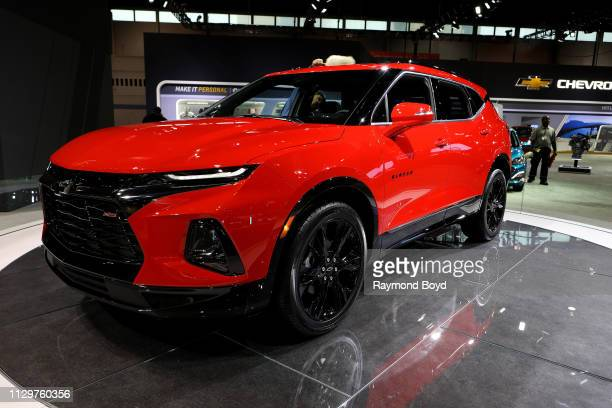 Chevrolet Blazer is on display at the 111th Annual Chicago Auto Show at McCormick Place in Chicago, Illinois on February 7, 2019.