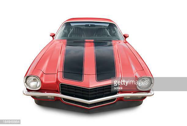 chevrolet camaro - 1971 - 1970s muscle cars stock pictures, royalty-free photos & images