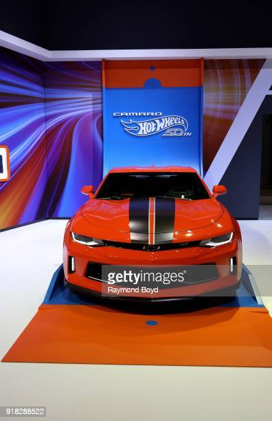 Chevrolet Camaro Hot Wheels Edition is on display at the 110th Annual Chicago Auto Show at McCormick Place in Chicago Illinois on February 8 2018