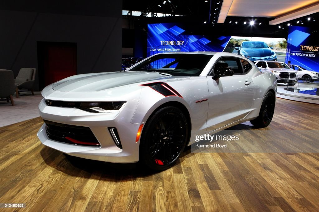 Chevrolet Camaro Redline Edition Is On Display At The 109th