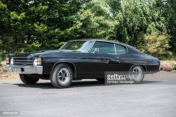 chevrolet chevelle 1970 - 1970s muscle cars stock pictures, royalty-free photos & images