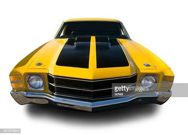 chevrolet chevelle, el camino- 1971 - hot rod car stock photos and pictures