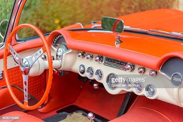 Chevrolet Corvette C1 classic sports car interior