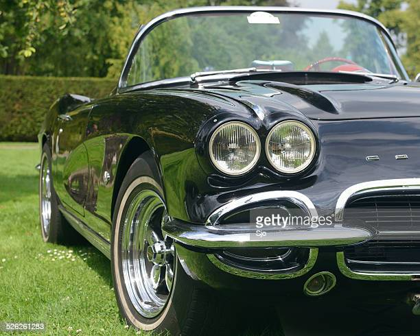 Chevrolet Corvette classic American sports car front view