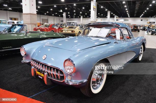 1957 Chevrolet Corvette Convertible Mecum Auctions the worlds largest collectorcar auction company returned to the Colorado Convention Center The...