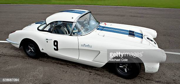 Chevrolet Corvette Fordwater Trophy race at The Goodwood Revival Meeting 13th Sept 2013