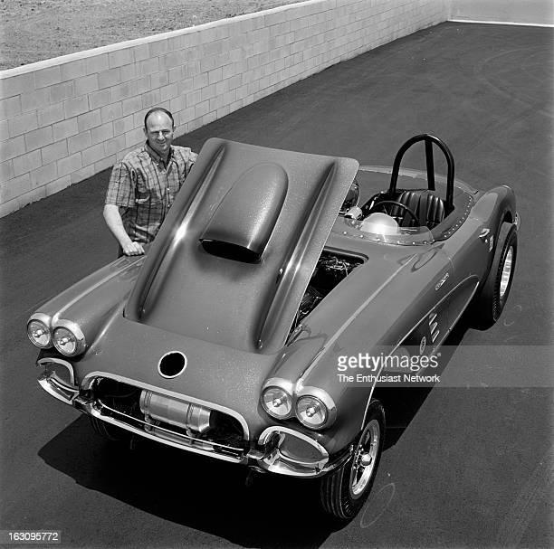 Chevrolet Corvette Gasser Drag Car - 1965