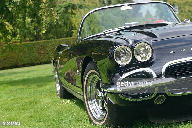 chevrolet corvette - chevrolet corvette stock pictures, royalty-free photos & images