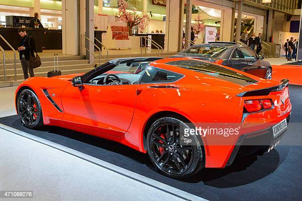 Chevrolet Corvette Stingray C7 sports car