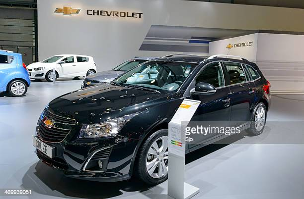 chevrolet cruze wagon - chevrolet stock pictures, royalty-free photos & images