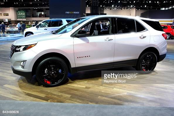 Chevrolet Equinox Redline Edition is on display at the ...