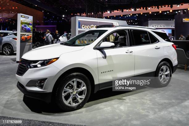 Chevrolet Equinox seen at the New York International Auto Show at the Jacob K. Javits Convention Center in New York.