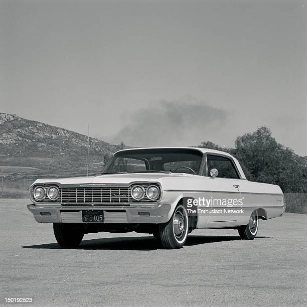 Chevrolet Impala 2door hardtop road test for Motor Trend magazine