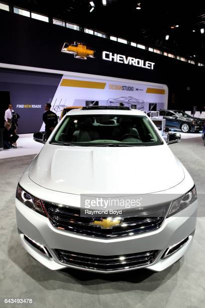 Chevrolet Impala is on display at the 109th Annual Chicago Auto Show at McCormick Place in Chicago Illinois on February 10 2017