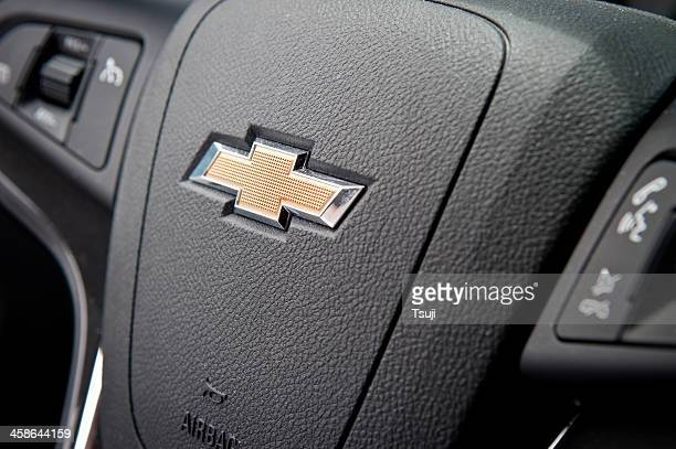 chevrolet logo - chevrolet stock pictures, royalty-free photos & images
