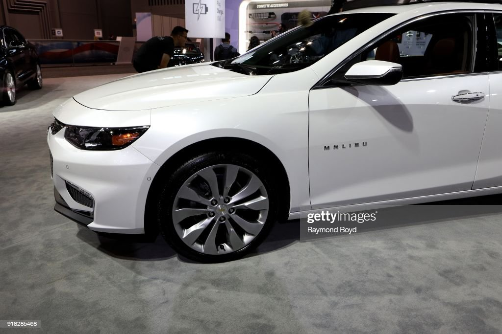 Chevrolet Malibu Is On Display At The Th Annual Chicago Auto Show - Car show display accessories