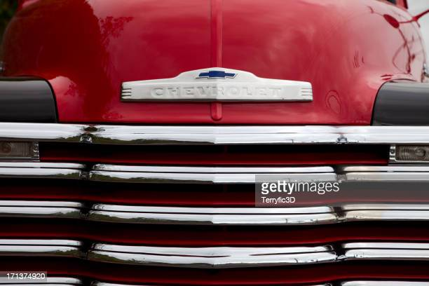 1949 chevrolet pickup truck grille - terryfic3d stock pictures, royalty-free photos & images