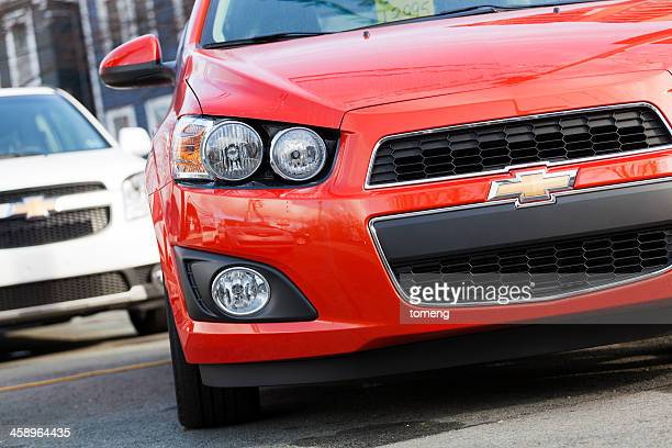 chevrolet sonic lt - chevrolet stock pictures, royalty-free photos & images