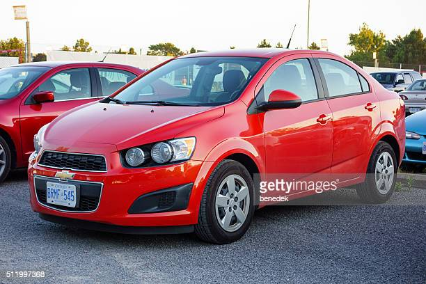 chevrolet sonic - chevrolet stock pictures, royalty-free photos & images