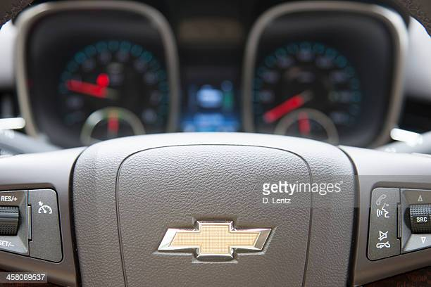 chevrolet steering wheel logo - chevrolet stock pictures, royalty-free photos & images