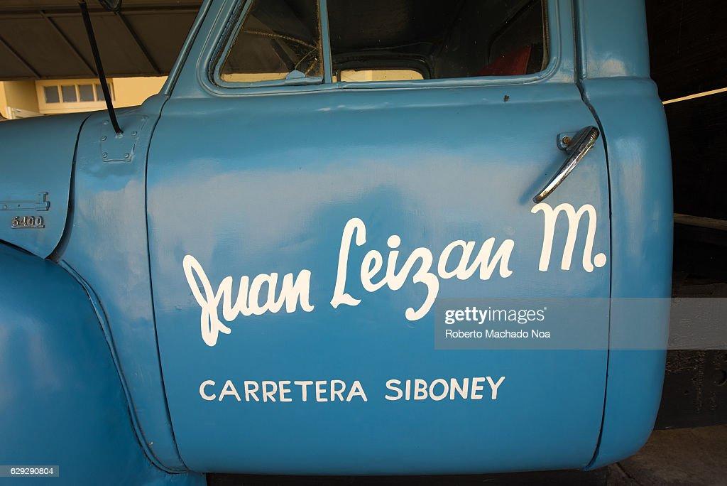 Chevrolet truck used in transporting Fidel Castro when... : Nachrichtenfoto