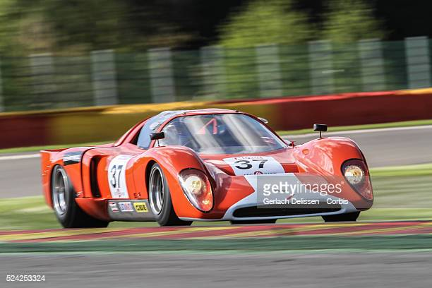 Chevron B16 FVC in action during Spa-CLassic, May 25th, 2013 at Spa-Francorchamps Circuit in Belgium.