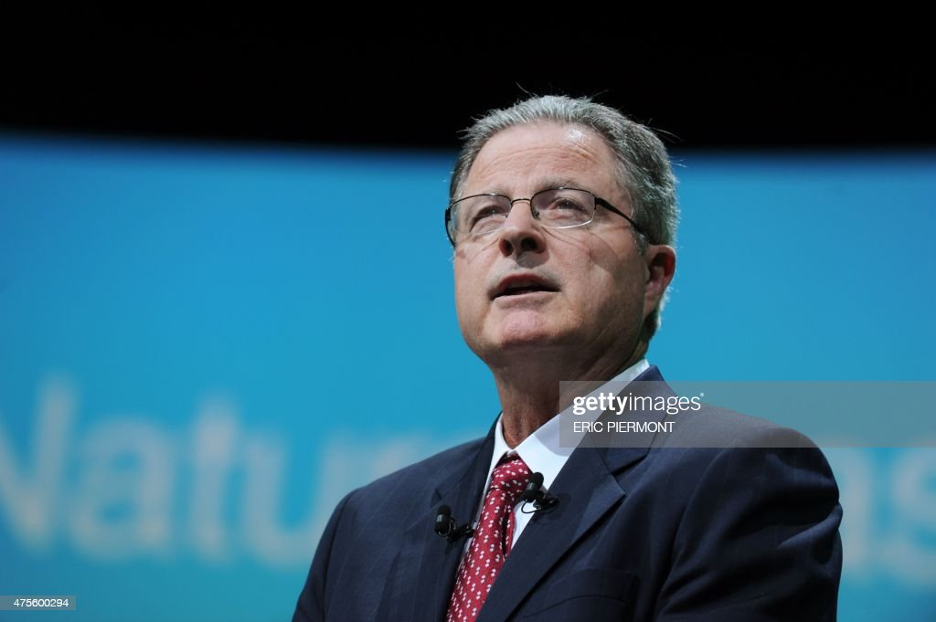 Chevron Chairman And Ceo John Watson Ad A Keynote Sch During The World Gas Conference In