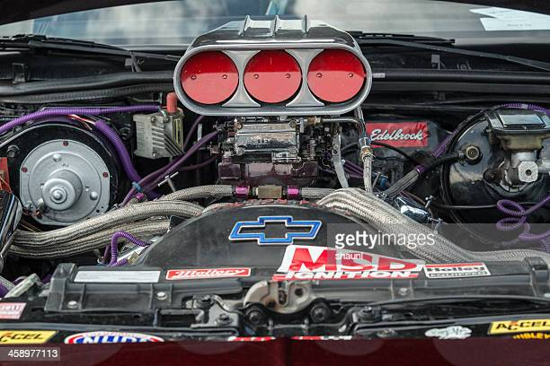 chevy big block - supercharged engine stock pictures, royalty-free photos & images