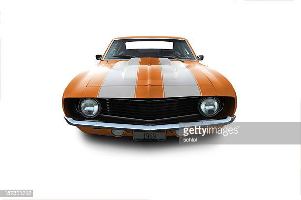 chevy camaro from 1969 - camaro stock photos and pictures