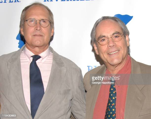 Chevy Chase and Robert Klein during Riverkeeper Hosts a Gala Benefit Dinner Honoring Hearst Corporation - April 19, 2007 at Chelsea Piers in New York...