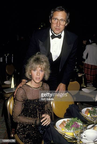 Chevy Chase and Wife Jayni Chase during Tel Aviv Gala Honoring Goldie Hawn at Century Plaza Hotel in Century City California United States