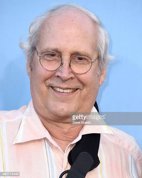 Chevy Chase arrives at the Premiere Of Warner Bros 'Vacation' at Regency Village Theatre on July 27 2015 in Westwood California
