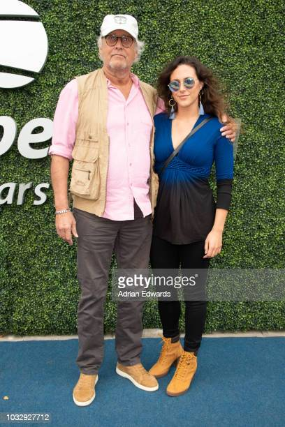 Chevy Chase at Day 12 of the US Open held at the USTA Tennis Center on September 7, 2018 in New York City.