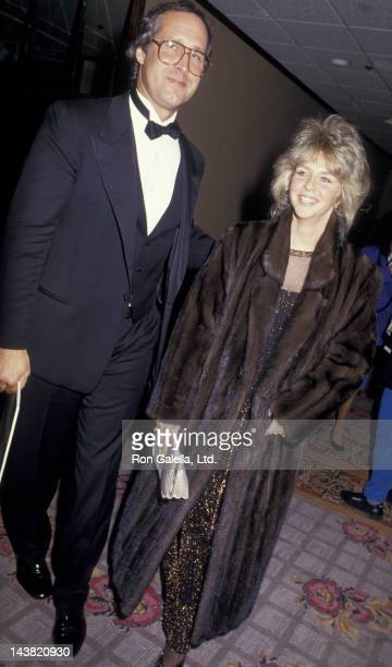 Chevy Chase attends Tel Aviv Gala on January 27 1987 at the Century Plaza Hotel in Century City California