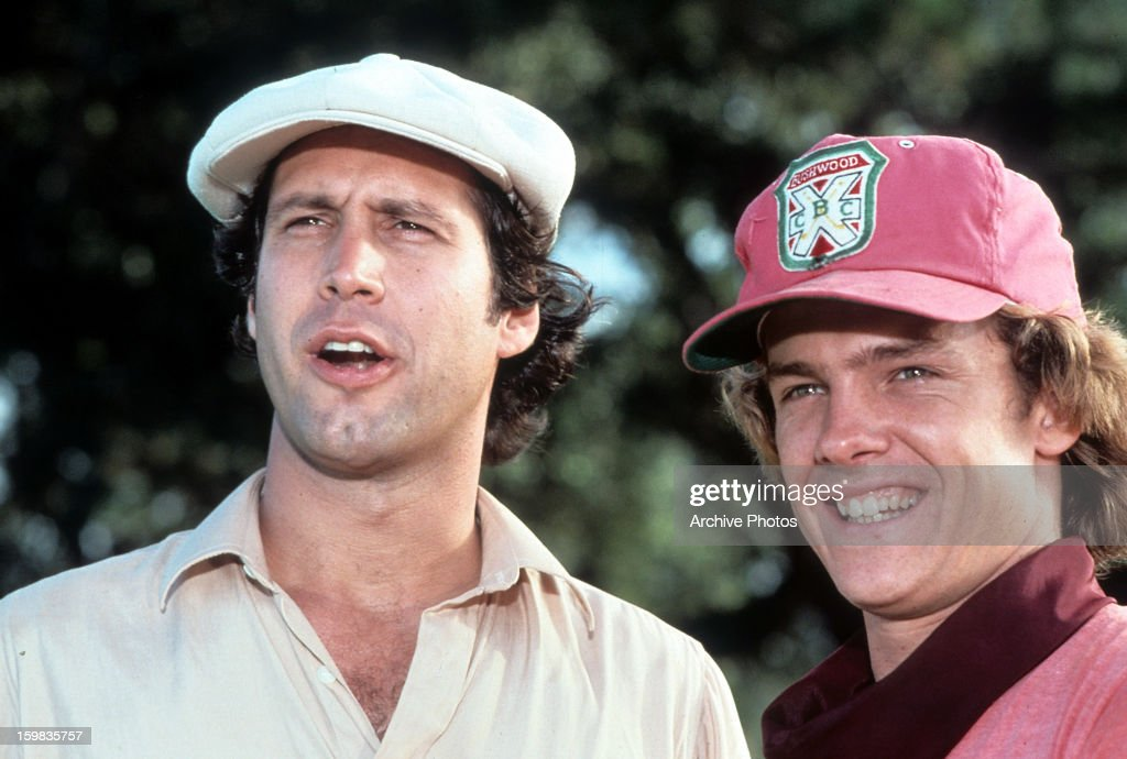 Chevy Chase In 'Caddyshack' : News Photo