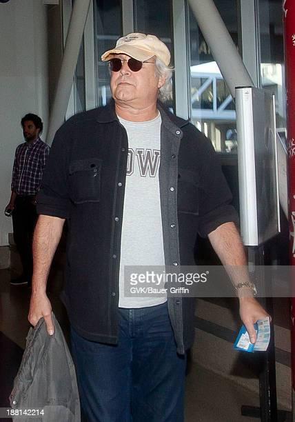 Chevy Chase is seen arriving at LAX airport on November 15 2013 in Los Angeles California