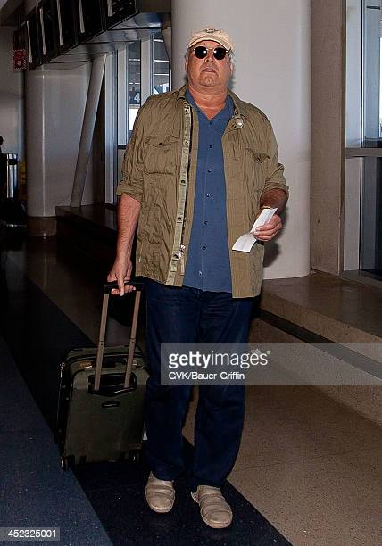 Chevy Chase is seen at LAX on August 21 2013 in Los Angeles California