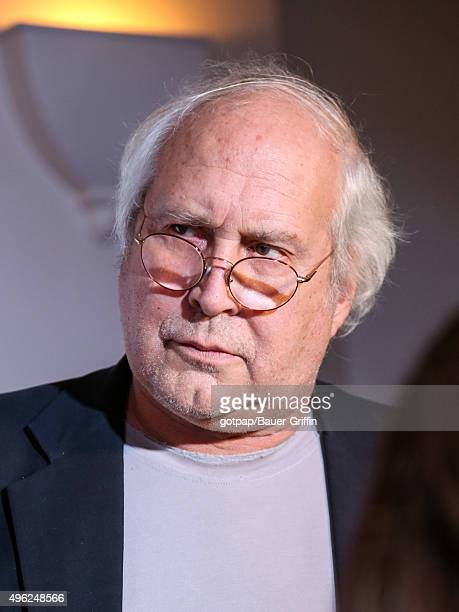 Chevy Chase is seen on November 07 2015 in Los Angeles California