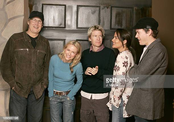 Chevy Chase Naomi Watts Scott Coffey director and writer of Ellie Parker Rebecca Rigg and Blair Mastbaum