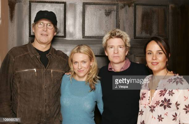 Chevy Chase Naomi Watts Scott Coffey director and writer of Ellie Parker and Rebecca Rigg