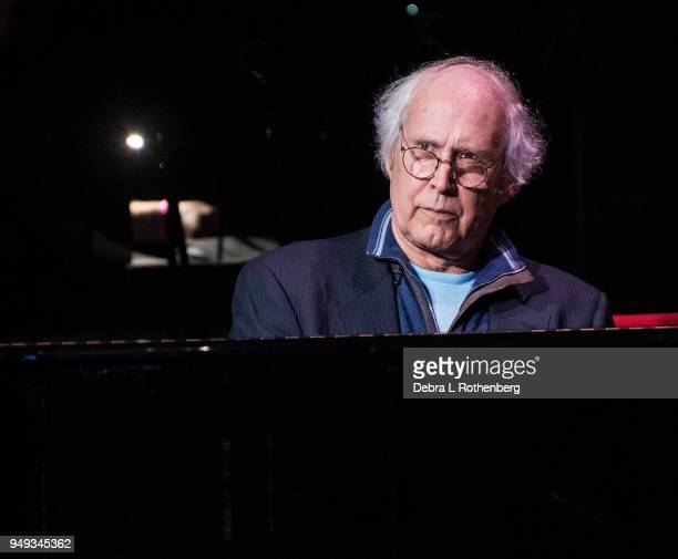 Chevy Chase performs at the 16th Annual A Great Night in Harlem Gala at The Apollo Theater on April 20 2018 in New York City